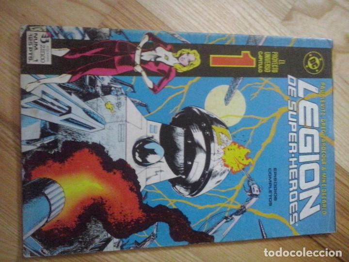 COMIC DC ZINCO LA LEGION DE SUPER HEROES Nº 1 (Tebeos y Comics - Zinco - Legión 91)
