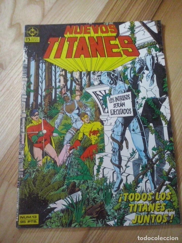 COMIC LOS NUEVOS TITANES DC ZINCO VOLUMEN Nº 1 Nº 13 (Tebeos y Comics - Zinco - Nuevos Titanes)