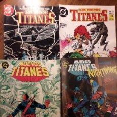 Cómics: NUEVOS TITANES Nº 45 Y 49 Y LOS NUEVOS TITANES Nº 2 Y 22. EDICIONES ZINCO.. Lote 99239959