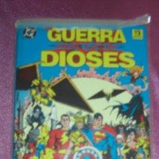 Cómics: LA GUERRA DE LOS DIOSES GEORGE PEREZ DC ZINCO EXCELENTE ESTADO . Lote 99288871