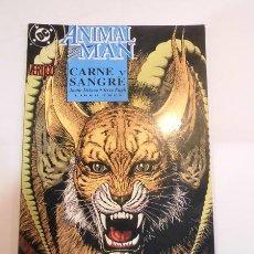 Cómics: ANIMAL MAN - CARNE Y SANGRE - LIBRO TRES - ED. ZINCO- 1993. Lote 99326914