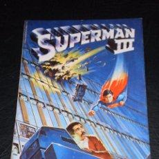 Cómics: SUPERMAN III FIEL ADAPTACION DEL FILM EDICION EXTRA-52 PAGINAS - EDICIONES ZINCO . Lote 99727739