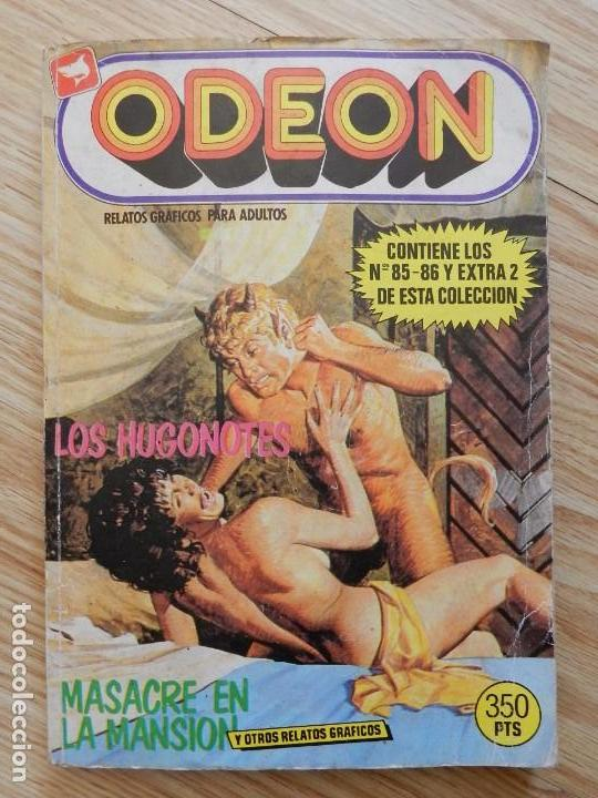 ODEON RELATOS GRÁFICOS PARA ADULTOS Nº 10 CONTIENEN LOS NÚMEROS 85 - 86 Y EXTRA 2 DE ESTA COLECCIÓN (Tebeos y Comics - Zinco - Retapados)