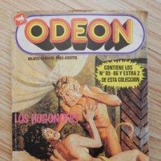 Cómics: ODEON RELATOS GRÁFICOS PARA ADULTOS Nº 10 CONTIENEN LOS NÚMEROS 85 - 86 Y EXTRA 2 DE ESTA COLECCIÓN . Lote 99863943