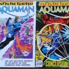 Cómics: AQUAMAN ESPECIAL VERANO COMPLETA. Lote 99974323