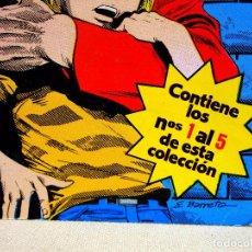 Cómics: TBO, COMIC, DC, V, EDICIONES ZINCO, ENCUADERNADO DEL 1 AL 5. Lote 100043247