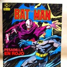 Cómics: TBO, COMIC, DC, BAT MAN, Nº 5,EDICIONES ZINCO 1984. Lote 100125623