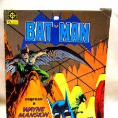 Cómics: TBO, COMIC, DC, BAT MAN, Nº 3,EDICIONES ZINCO 1984. Lote 100125779