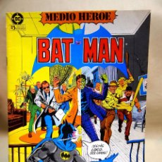 Cómics: TBO, COMIC, DC, BAT MAN, Nº 1,EDICIONES ZINCO 1984. Lote 100125871