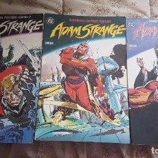 Cómics: ADAM STRANGE (OBRA COMPLETA 3 TOMOS) - ZINCO. Lote 100205283