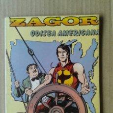Cómics: ZAGOR N°4: ODISEA AMERICANA. EDICIONES ZINCO, 1982. GUIÓN DE G. NOLITTA.. Lote 100312134