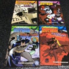 Cómics: LAS AVENTURAS DE BATMAN - COLECCION COMPLETA 4 TOMOS ( FORMATO LIBRO ) CHAMORRO. Lote 49379702