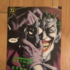 Cómics: BATMAN LA BROMA ASESINA - ALAN MOORE Y BRIAN BOLLAND - PRIMERA EDICIÓN ESPAÑOLA. Lote 101020839
