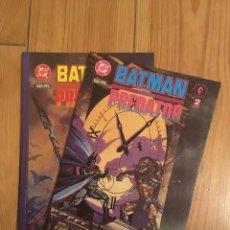 Cómics: BATMAN CONTRA PREDATOR NºS 1 Y 2 - GIBBONS, KUBERT Y KUBERT - NUEVOS. Lote 101021399