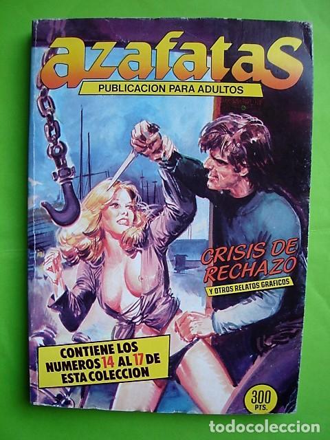 AZAFATAS, TOMO Nº 3 RETAPADO CON NÚMEROS 14, 15, 16 Y 17. EDICIONES ZINCO. AÑO 1985 (Tebeos y Comics - Zinco - Retapados)