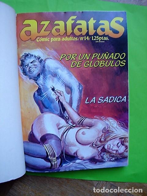 Cómics: AZAFATAS, TOMO Nº 3 RETAPADO CON NÚMEROS 14, 15, 16 Y 17. EDICIONES ZINCO. AÑO 1985 - Foto 3 - 101150819