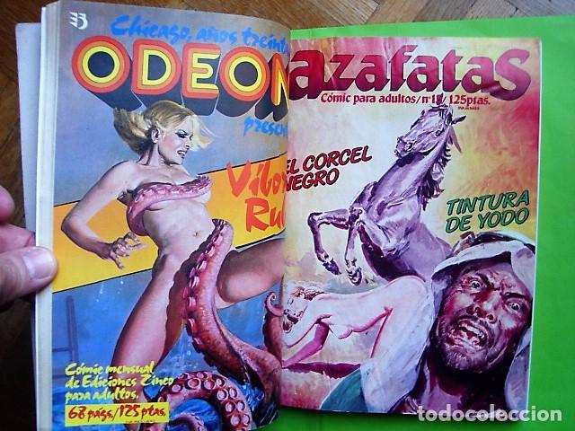 Cómics: AZAFATAS, TOMO Nº 3 RETAPADO CON NÚMEROS 14, 15, 16 Y 17. EDICIONES ZINCO. AÑO 1985 - Foto 4 - 101150819