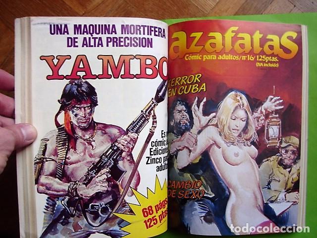 Cómics: AZAFATAS, TOMO Nº 3 RETAPADO CON NÚMEROS 14, 15, 16 Y 17. EDICIONES ZINCO. AÑO 1985 - Foto 5 - 101150819