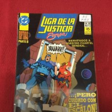 Comics : LA LIGA DE LA JUSTICIA DE EUROPA NUMERO 32 MUY BUEN ESTADO REF.32. Lote 101274479