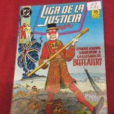 Comics : LA LIGA DE LA JUSTICIA DE EUROPA NUMERO 20 MUY BUEN ESTADO REF.32. Lote 101274899