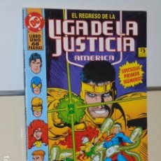 Cómics: EL REGRESO DE LA LIGA DE LA JUSTICIA AMERICA - ZINCO OFERTA. Lote 137110180
