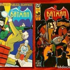 Cómics: BATMAN LAS AVENTURAS DE - COMICS NºS 14 Y 15 - COMICS DC EDICIONES ZINCO (AÑOS 90). Lote 101453043