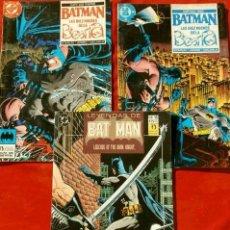 Cómics: BATMAN LAS DIEZ NOCHES DE LA BESTIA - COMICS NºS 3, 4 Y 15 -COMICS DC ED. ZINCO- LEYENDAS DE BAT MAN. Lote 101453803