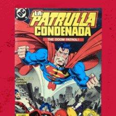 Cómics: LA PATRULLA CONDENADA, DC, Nº 10M- EDICIONES ZINCO. AÑO 1988, 150 PTS.. Lote 101651627