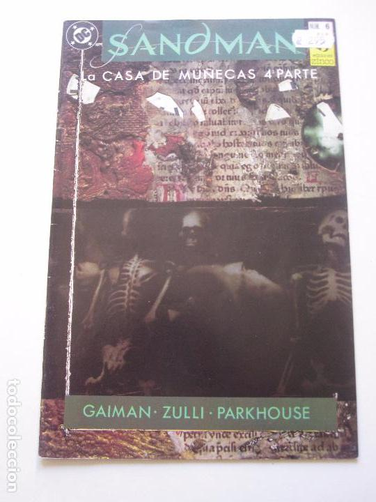 SANDMAN Nº 6 - LA CASA DE MUÑECAS 4 ª PARTE - ZINCO C9 (Tebeos y Comics - Zinco - Otros)