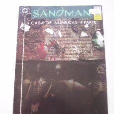 Cómics: SANDMAN Nº 6 - LA CASA DE MUÑECAS 4 ª PARTE - ZINCO C9. Lote 101873851