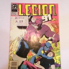Cómics: LEGION 91 - NUM 4 - ED ZINCO- 1991. Lote 101904855