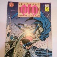 Cómics: LEYENDAS DE BATMAN - NUM 19 - ED ZINCO- 1990. Lote 101904867