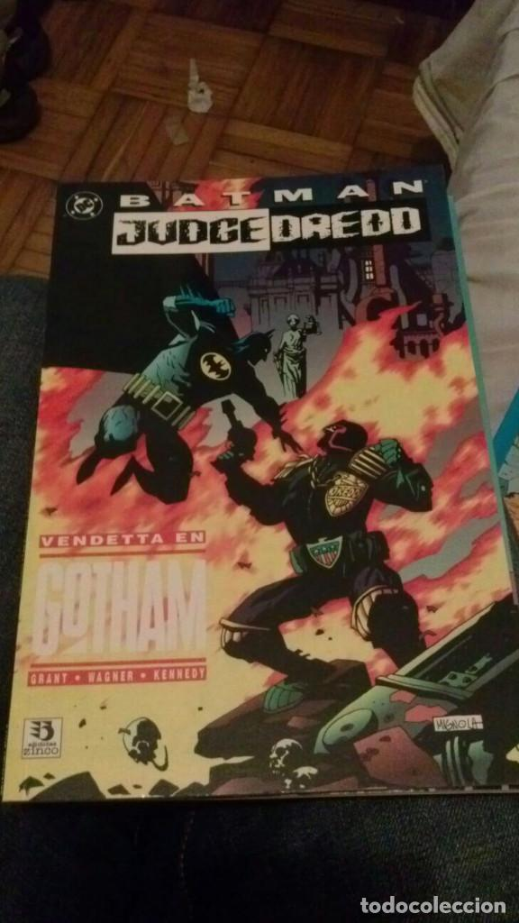 BATMAN JUDGE DREDD - VENDETTA EN GOTHAM (Tebeos y Comics - Zinco - Batman)
