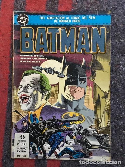 Cómics: Batman - Lote de 5 comics - Adaptación al comic de sus primeras películas - Foto 2 - 101914327