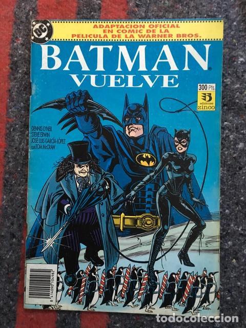 Cómics: Batman - Lote de 5 comics - Adaptación al comic de sus primeras películas - Foto 5 - 101914327