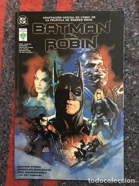 Cómics: Batman - Lote de 5 comics - Adaptación al comic de sus primeras películas - Foto 6 - 101914327