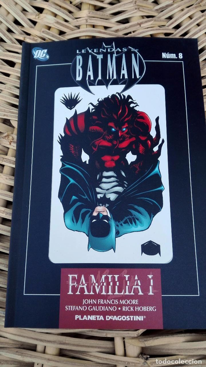 LEYENDA DE BATMAN. NUMERO 8. FAMILIA I. PLANETA DE AGOSTINI. SIN USO W (Tebeos y Comics - Zinco - Batman)