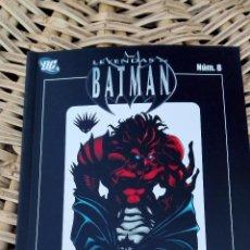 Cómics: LEYENDA DE BATMAN. NUMERO 8. FAMILIA I. PLANETA DE AGOSTINI. SIN USO W. Lote 101987383