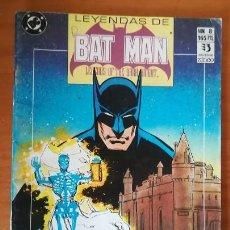 Cómics: LEYENDAS DE BATMAN 8 GOTHIC 3. EDICIONES ZINCO DC COMICS LEGENDS OF THE DARK KNIGHT. Lote 102417735