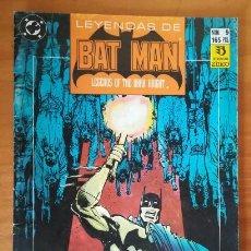 Cómics: LEYENDAS DE BATMAN 9 GOTHIC 4. EDICIONES ZINCO DC COMICS LEGENDS OF THE DARK KNIGHT. Lote 102417767