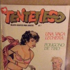 Cómics: TENTETIESO Nº 7 (UNA VACA LECHERA / POLIGONO DE TIRO). Lote 102521763
