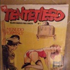 Cómics: TENTETIESO Nº 1 (MENUDO PERMISO / UNA PALETA EN LA CIUDAD). Lote 102522227