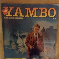 Cómics: YAMBO Nº 19 (EXTERMINIO / MIEDO). Lote 102526527