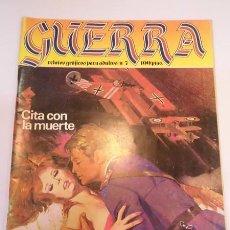 Cómics: GUERRA NUM 7 - RELATOS PARA ADULTOS - ED ZINCO- 1981. Lote 102564560