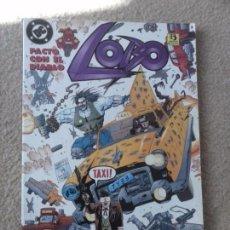 Cómics: LOBO - PACTO CON EL DIABLO - EDI. ZINCO 1996 - ALAN GRANT - KEV O´NEILL. Lote 102591227
