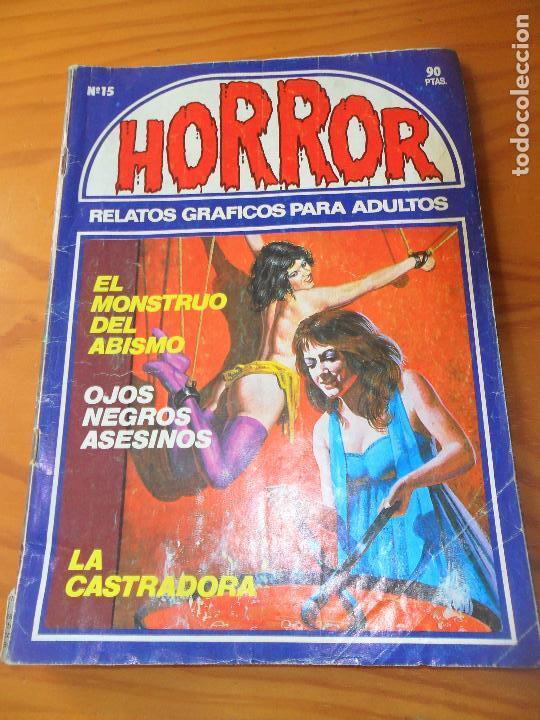 HORROR Nº 15 - ED. ZINCO COMIX (Tebeos y Comics - Zinco - Otros)