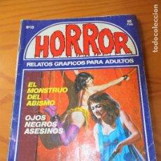 Cómics: HORROR Nº 15 - ED. ZINCO COMIX. Lote 102832987