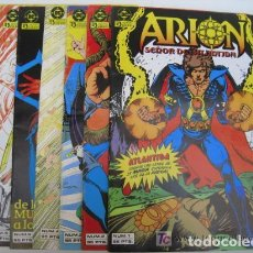 Cómics: LOTE COMIC DE ARION NUMEROS 1 AL 9 EDITORIAL ZINCO. Lote 102905683
