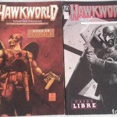 Cómics: HAWKWORLD LIBROS 1 Y 2 MUY BUEN ESTADO. Lote 103261455