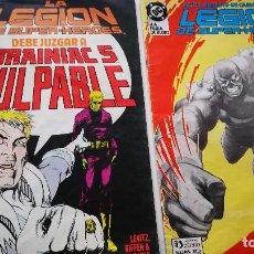 Cómics: LA LEGION DE SUPERHEROES Nº 17-23. Lote 103315859
